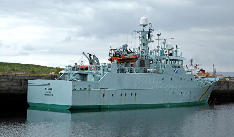 Minna - James Watt Dock - 12 June 2012