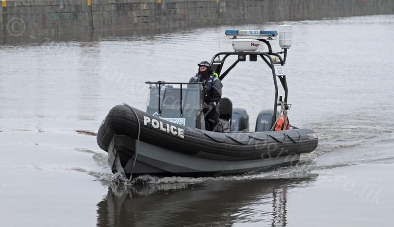Police RHIB - James Watt Dock - 10 December 2011