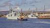 HMCS Toronto (FFH 333) passing Braehead - 29 October 2018