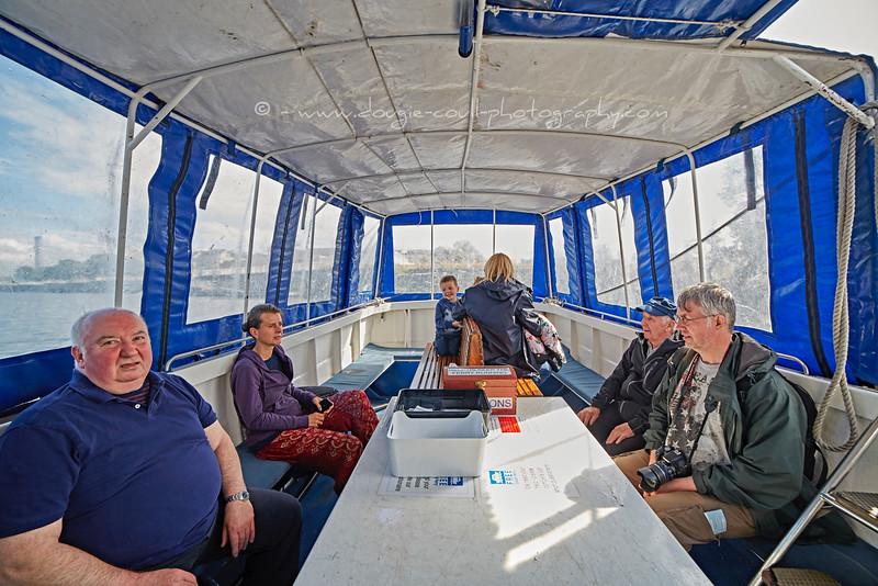 Govan Ferry in Glasgow - 1 August 2015