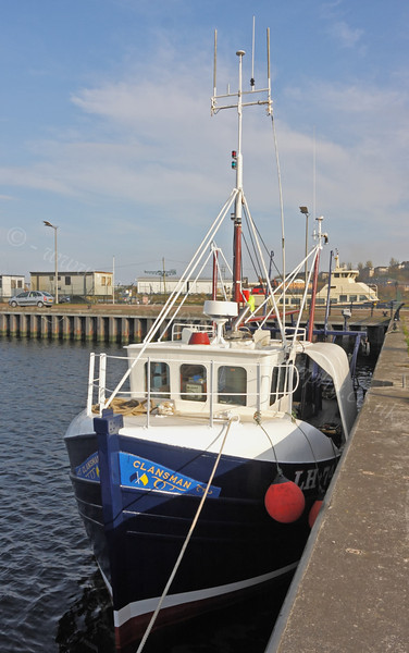 Trawler 'Clansman' - East India Harbour - 29 March 2012