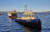 Loch Ranza Move at James Watt Dock - 17 January 2019