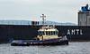 'AMT Trader' and 'Battler' Passing Greenock - 25 June 2014