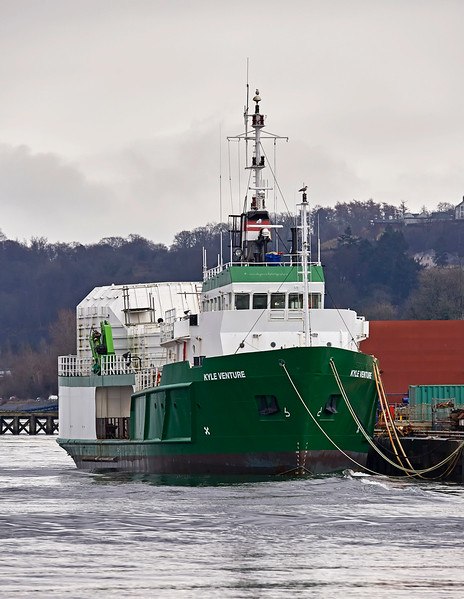 'Kyle Venture' Utility Vessel at Port Glasgow - 11 March 2017