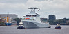 'HMS Forth' passing Braehead - 21 August 2016