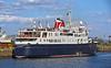 Hebridean Princess at  James Watt Dock - 1 July 2021