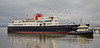 'Hebridean Princess' off James Watt Dock - James Watt Dock - 28 December 2016