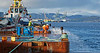 Barge 'Cormorant' at Garvel Dock, Greenock - 15 December {year4