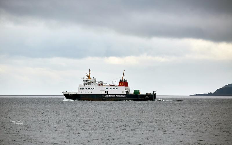 MV Bute off Toward Point - 25 July 2020