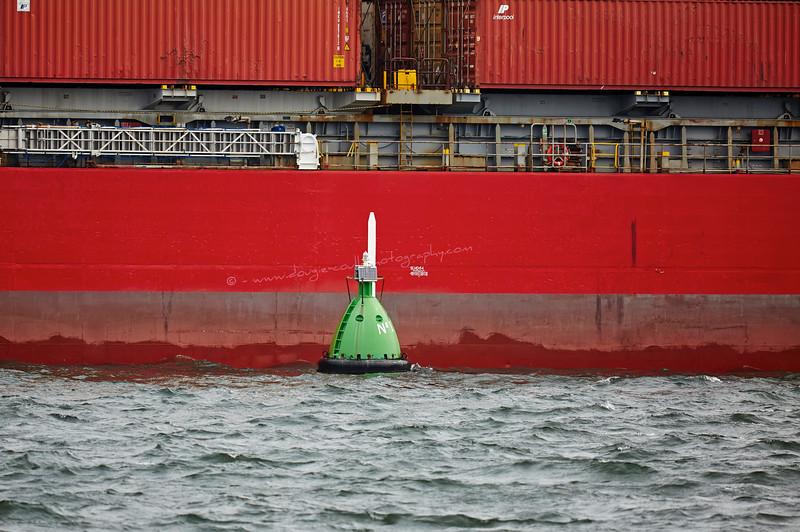 "'Number One"" Buoy off Greenock Esplanade - 7 May 2016"