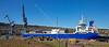 'Lysblink Seaways' at Inchgreen Drydock - 19 April 2015