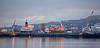 View of the James Watt Dock Area - 9 January 2020