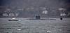 Trafalgar Class Submarine in Loch Long - 1 April 2016