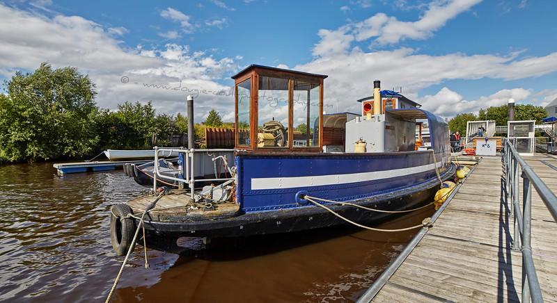 Kelvinhaugh (Ferry No 8) at the Riverside Museum Quay - 1 August 2015