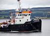 'Marian V' - Passing Port Glasgow - 3 September 2013