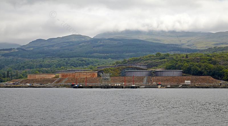 Finnart Oil Terminal - Loch Long - 9 June 2013