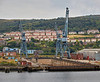 Inchgreen Dry Dock on the River Clyde - 3 September 2014