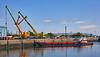 Linkspan Lift at James Watt Dock - 1 July 2021