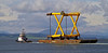 'Osprey Fighter' - Passing Port Glasgow - 4 September 2013