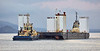 Svitzer Milford and Anglegarth Towing AMT Carrier off Port Glasgow - 16 October 2018