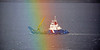 'Cameron' Sailing Through the Rainbow off Langbank - 16 November 2017
