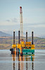 Commander Jack Up Barge of Greenock Ocean Terminal - 9 January 2020