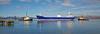 'Lysblink Seaways' exiting Inchgreen Drydock - 19 April 2015