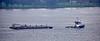 Tug 'Andre-B' towing the bitumen barge 'Magbit 9' off Langbank - 21 January 2016