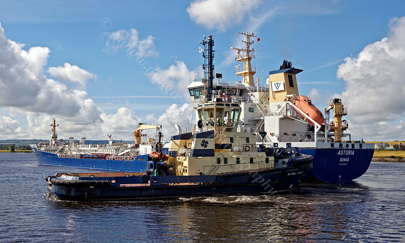 'Astoria' - Off Rothesay Dock - 4 August 2013