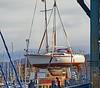 Yacht Lift at James Watt Dock Marina - 21 January 2020
