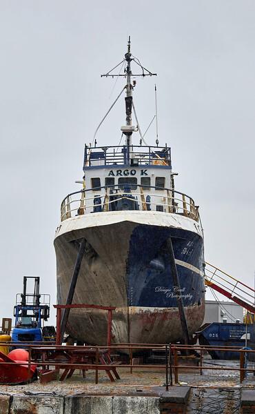 Argo K at James Watt Dock - 27 July 2020
