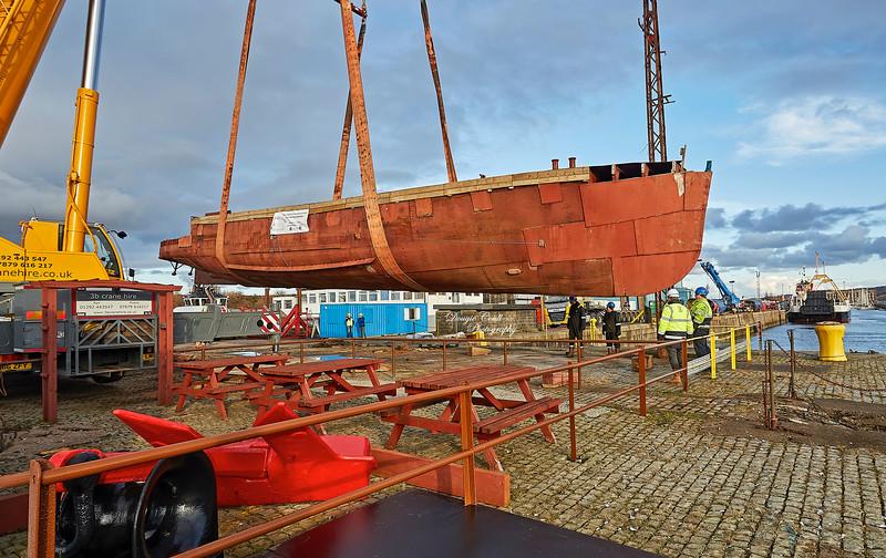 Second Snark at Garvel Dry Dock - 4 March 2020