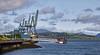 Floating Pontoon for Cruise Ships at Greenock - 17 July 2021