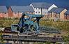 Demolished Cranes at Inchgreen Dry Dock - 17 July 2017