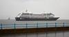 'Azamara Journey' off Greenock Esplanade - 26 July 2017