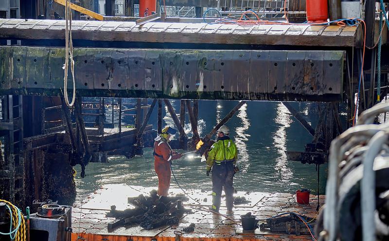 Replacement Link-Span Work at Gourock - 23 October 2020