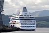 Cruise Ship - Aida cara - Greenock Ocean Terminal - 17 June 2012