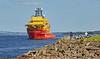'Subsea Viking' passing Port Glasgow - 8 July 2017