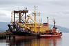 Kommandor Calum and Tug 'AGIS' - Great Harbour - 16 July 2012
