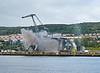 Cranes Demolition at Inchgreen Dry Dock - 16 July 2017