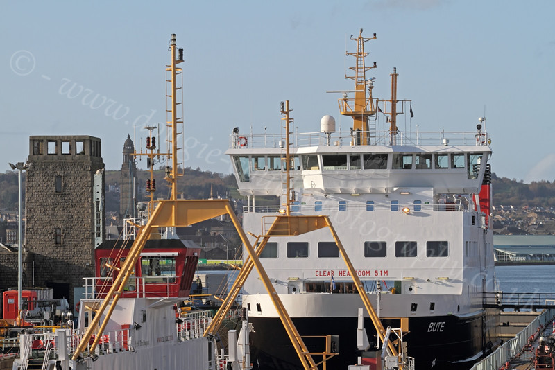 Ferries in Garvel Dry Dock for Winter Maintenance - Greenock - 12 November 2011