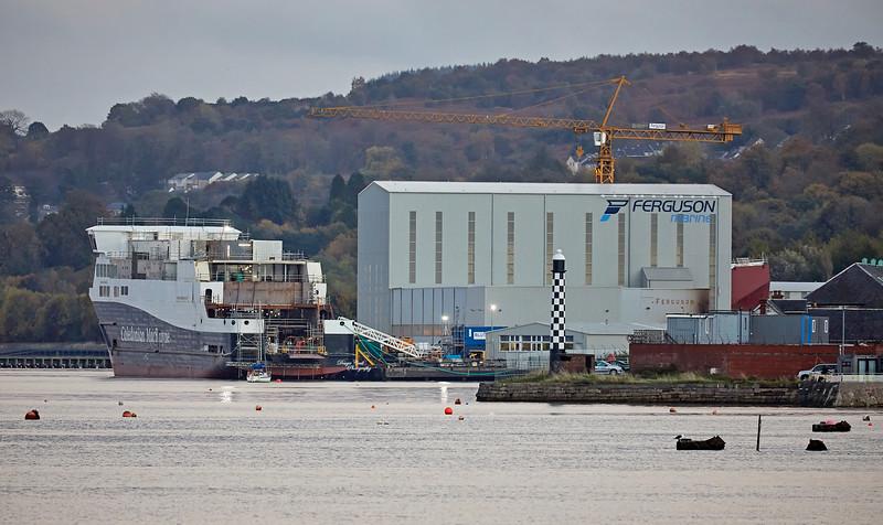 Ferguson Marine in Port Glasgow - 16 October 2018