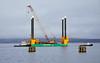 Commander Jack Up Barge at Garvel Bend, Greenock - 22 January 2020
