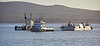 Berthing Pontoon for Ocean Terminal at Greenock - 19 March 2020