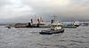 'Battler' Assisting 'Lord of the Isles' - Garvel Dock - 6 November 2012