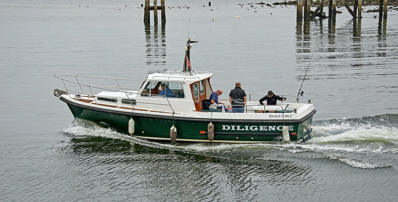 'Diligence' at Greenock - 14 August 2020