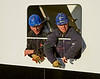 Garvel Workers Aboard the 'MV Loch Shira' at James Watt Dock - 4 February 2014