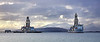 'Ensco DS 8 and Valaris DS 4' off Hunterston - 8 February 2021