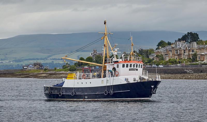 Seahorse II at Rothesay - 20 July 2014