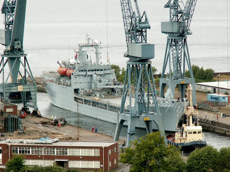 RFA St Tristram - Inchgreen Dry Dock - 7 July 2005